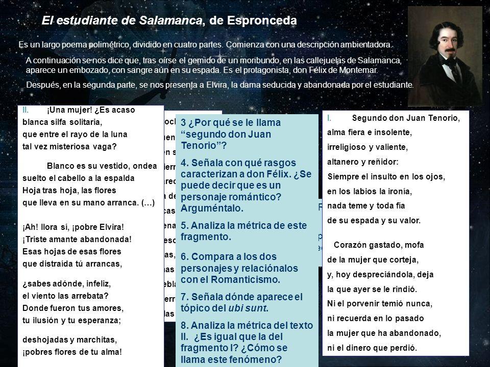El estudiante de Salamanca, de Espronceda