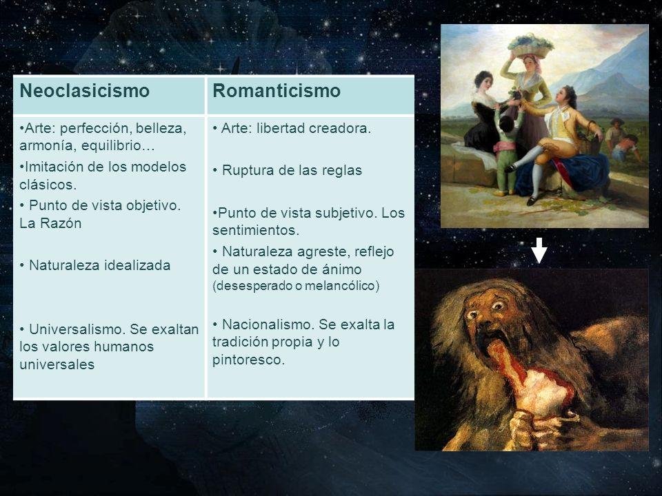 Neoclasicismo Romanticismo
