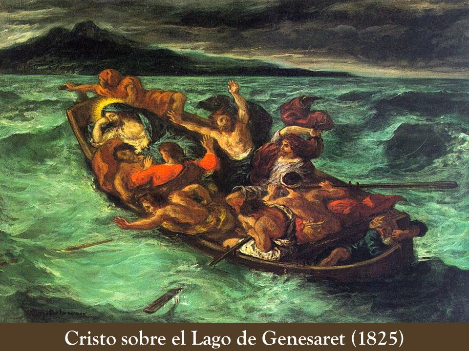 Cristo sobre el Lago de Genesaret (1825)