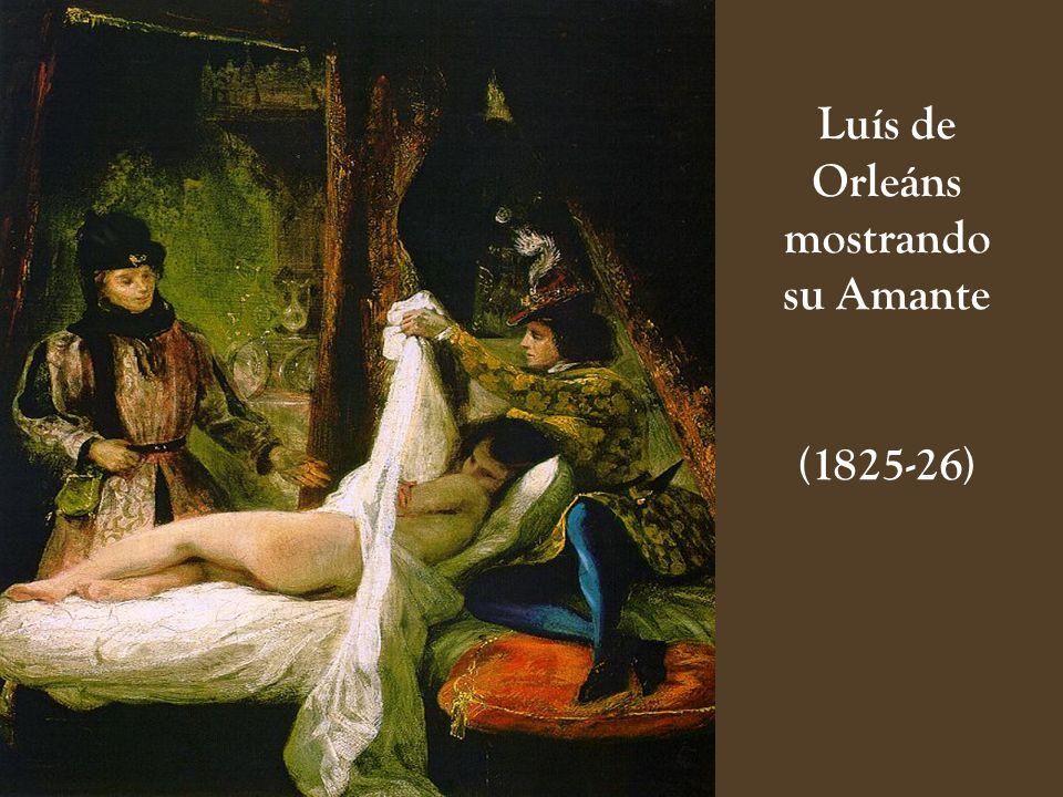 Luís de Orleáns mostrando su Amante