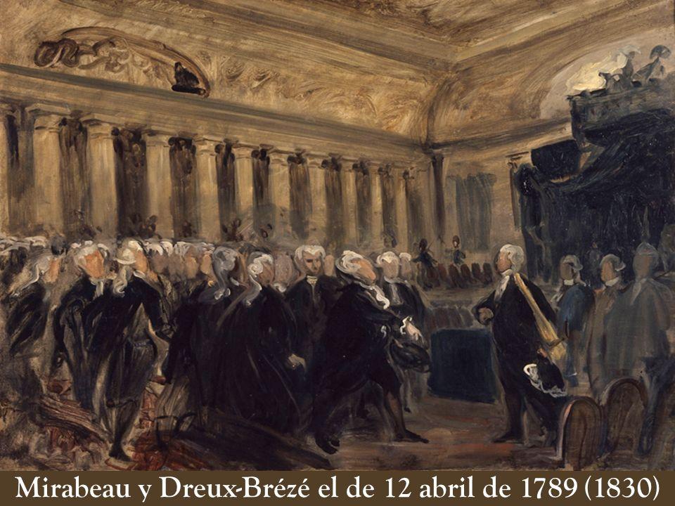 Mirabeau y Dreux-Brézé el de 12 abril de 1789 (1830)