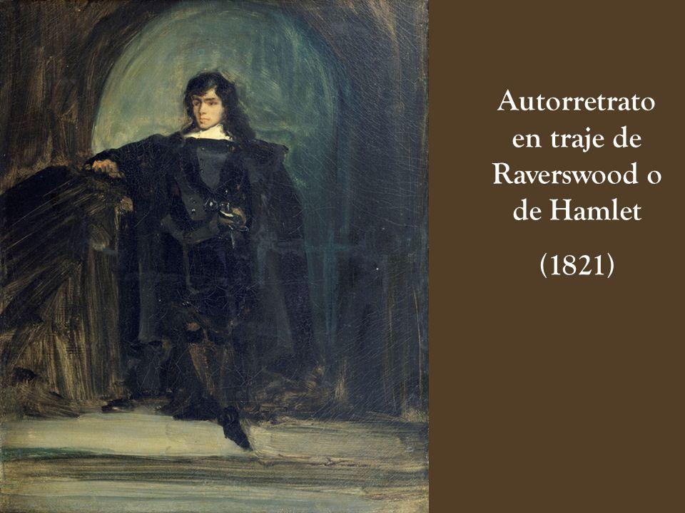 Autorretrato en traje de Raverswood o de Hamlet