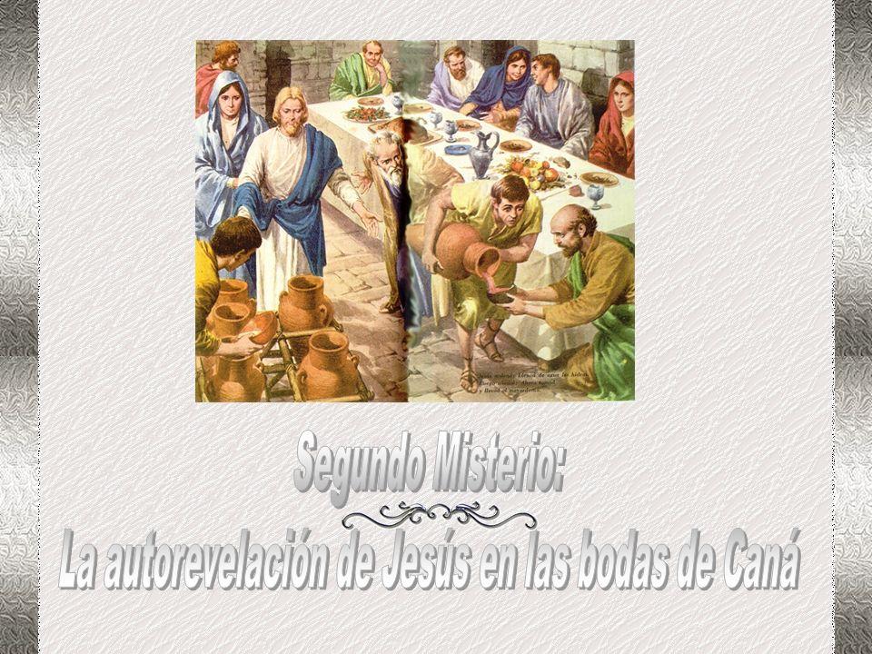 La autorevelación de Jesús en las bodas de Caná