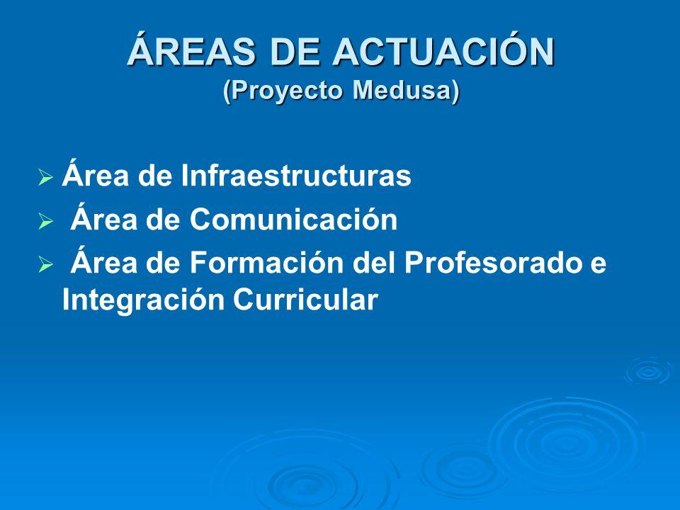 ÁREAS DE ACTUACIÓN (Proyecto Medusa)