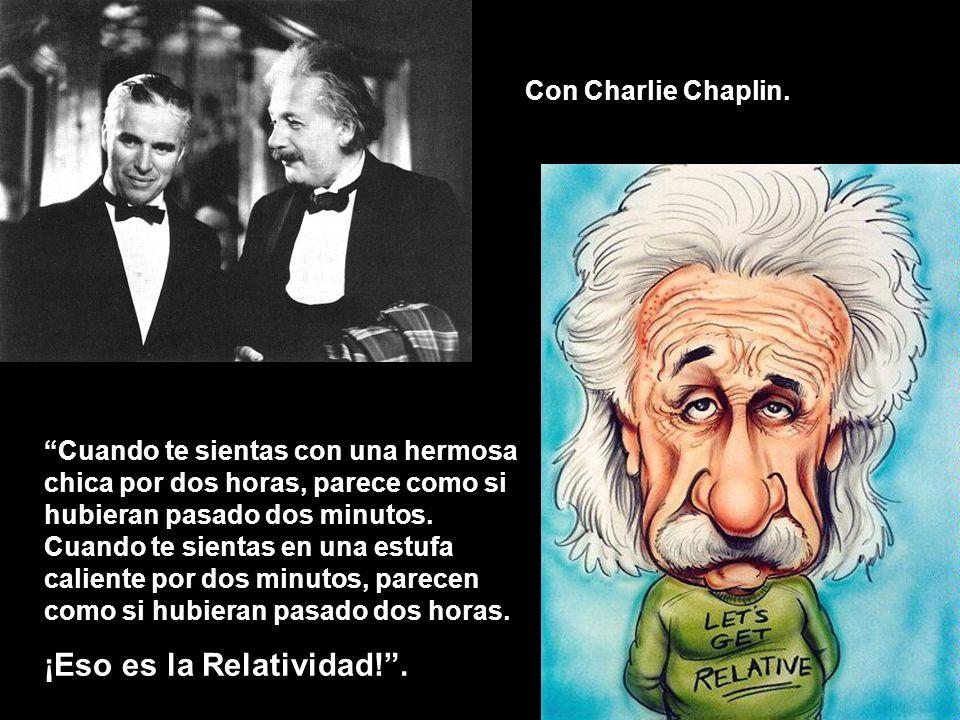 ¡Eso es la Relatividad! .