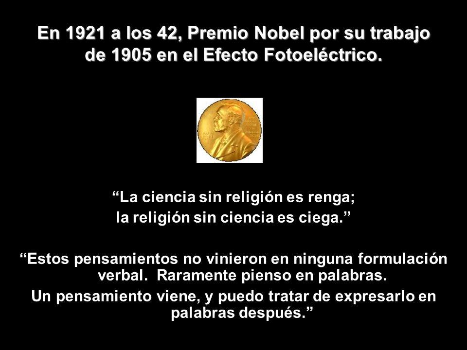 La ciencia sin religión es renga; la religión sin ciencia es ciega.