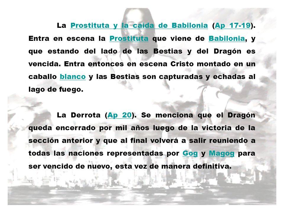 La Prostituta y la caída de Babilonia (Ap 17-19)