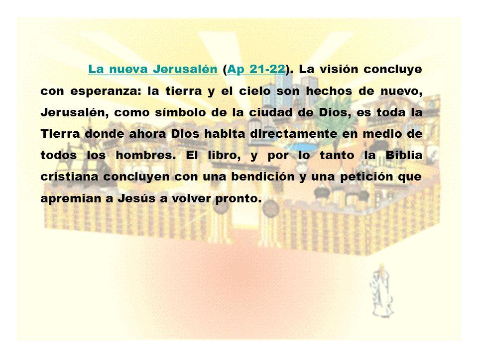 La nueva Jerusalén (Ap 21-22)