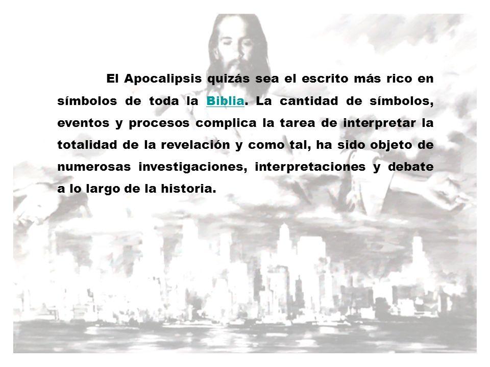 El Apocalipsis quizás sea el escrito más rico en símbolos de toda la Biblia.