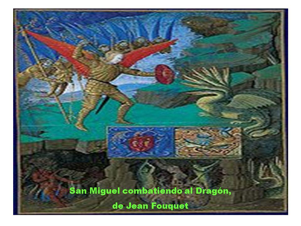 San Miguel combatiendo al Dragón,
