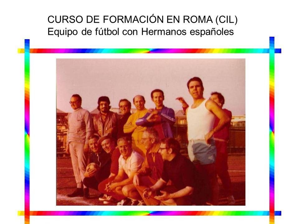 CURSO DE FORMACIÓN EN ROMA (CIL)