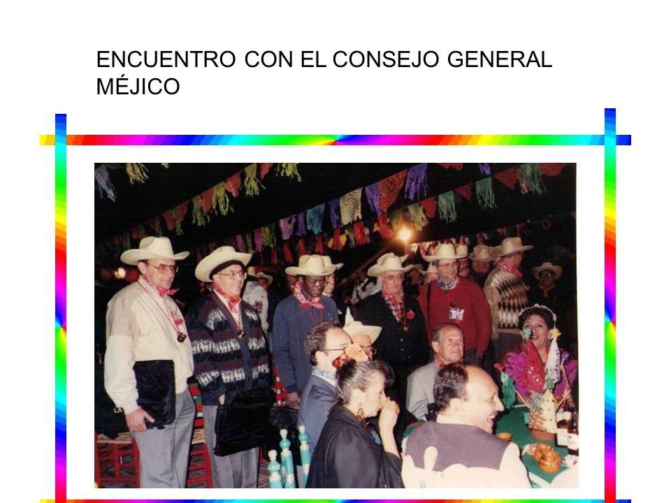 ENCUENTRO CON EL CONSEJO GENERAL