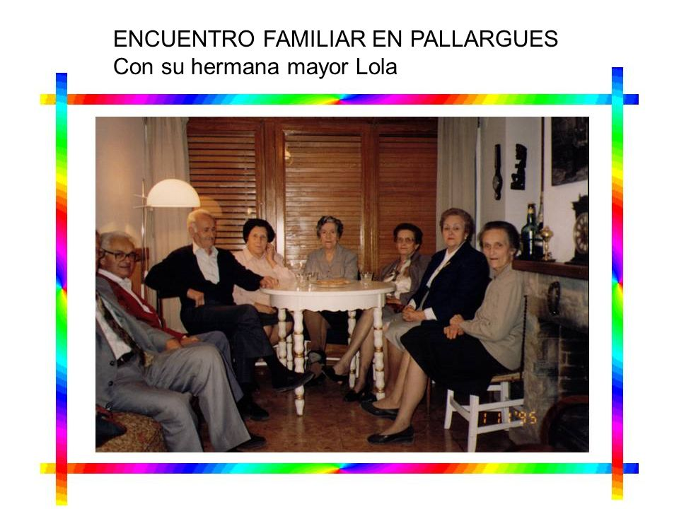 ENCUENTRO FAMILIAR EN PALLARGUES
