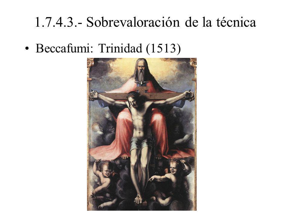 1.7.4.3.- Sobrevaloración de la técnica