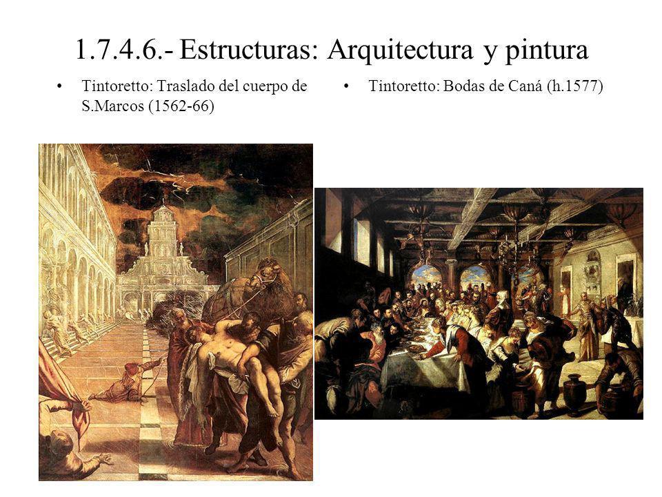 1.7.4.6.- Estructuras: Arquitectura y pintura