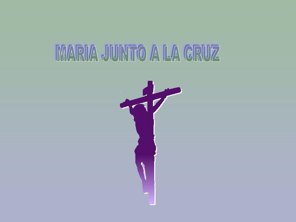 MARIA JUNTO A LA CRUZ