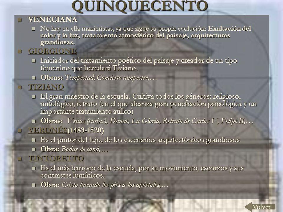 QUINQUECENTO VENECIANA GIORGIONE