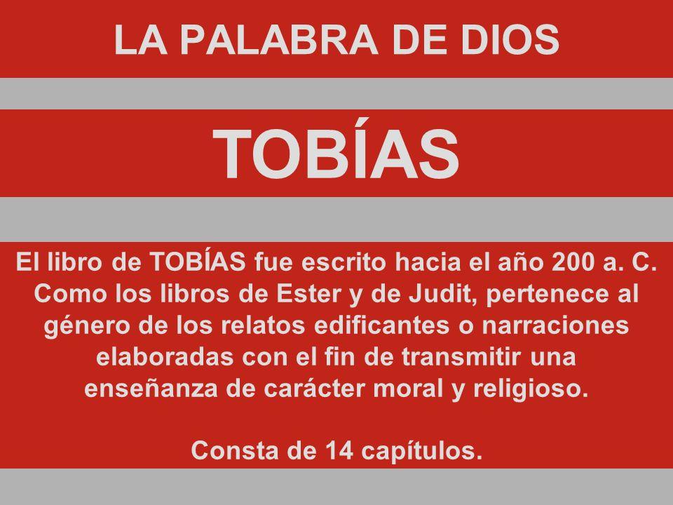TOBÍAS LA PALABRA DE DIOS