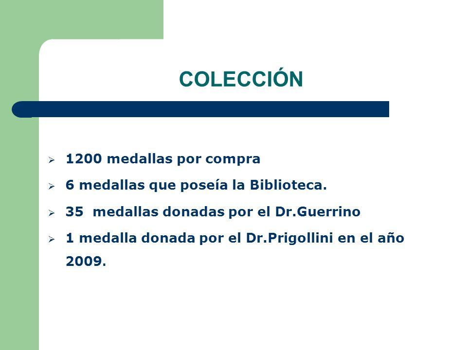COLECCIÓN 1200 medallas por compra