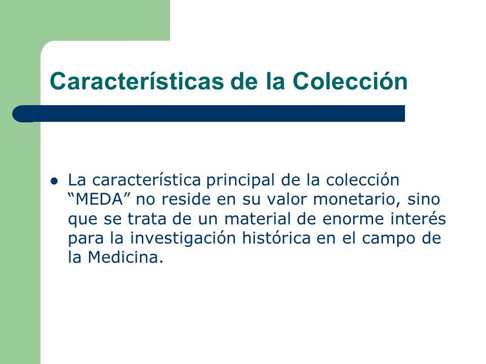 Características de la Colección