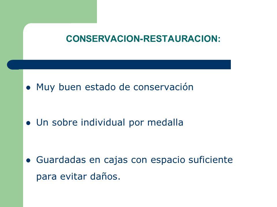 CONSERVACION-RESTAURACION:
