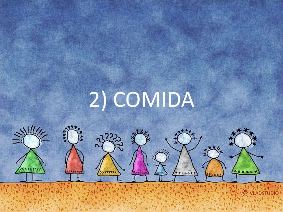 2) COMIDA