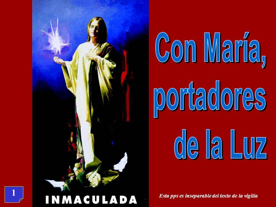 Con María, portadores de la Luz 1