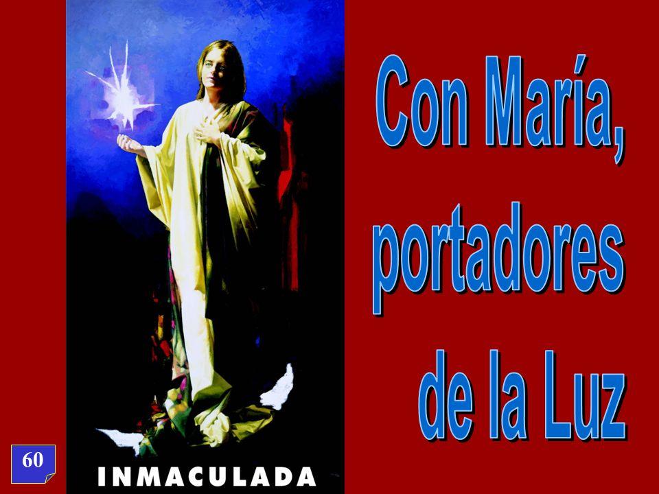 Con María, portadores de la Luz 60