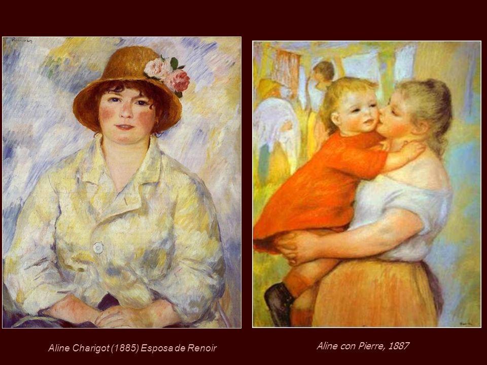 Aline Charigot (1885) Esposa de Renoir