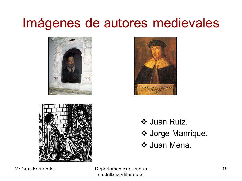 Imágenes de autores medievales