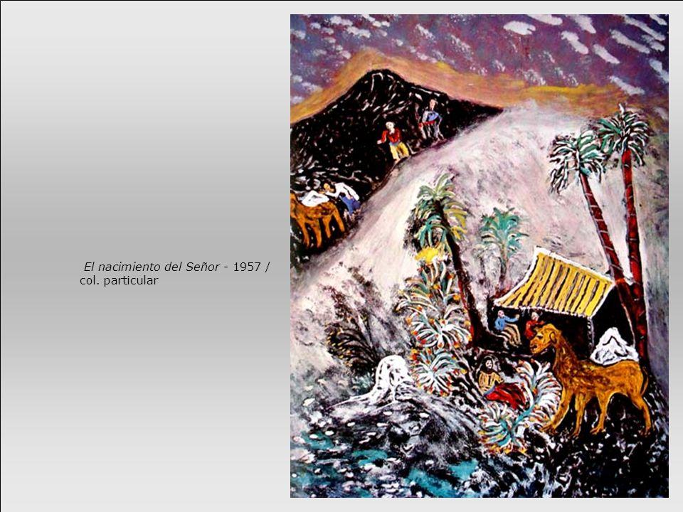 El nacimiento del Señor - 1957 / col. particular