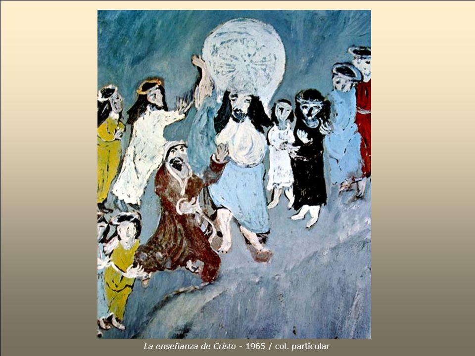 La enseñanza de Cristo - 1965 / col. particular