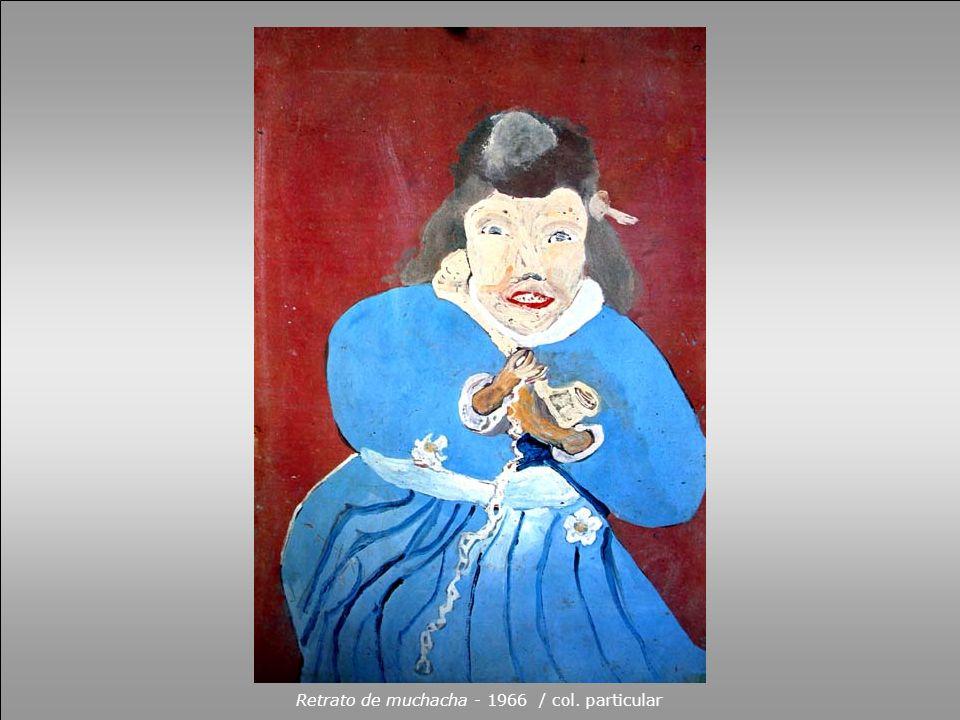 Retrato de muchacha - 1966 / col. particular