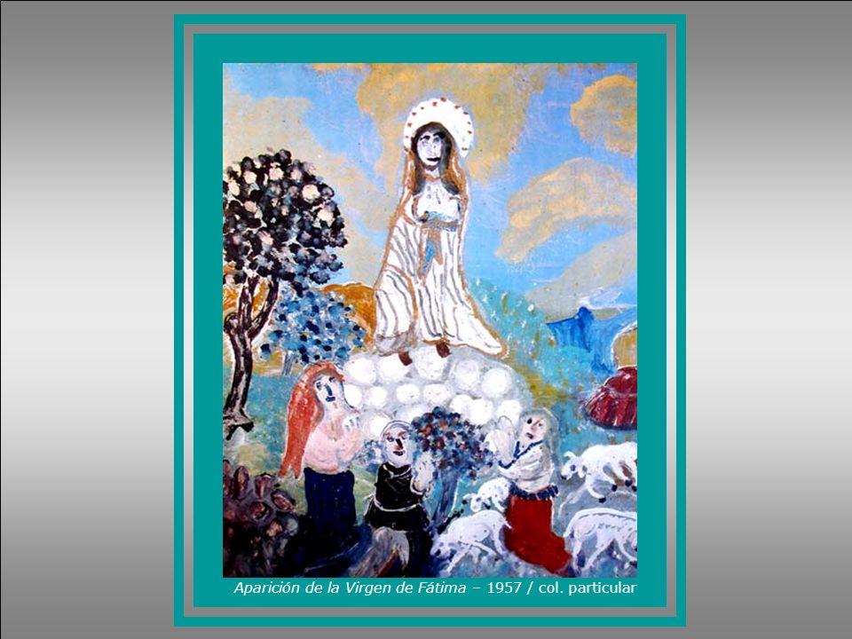 Aparición de la Virgen de Fátima – 1957 / col. particular