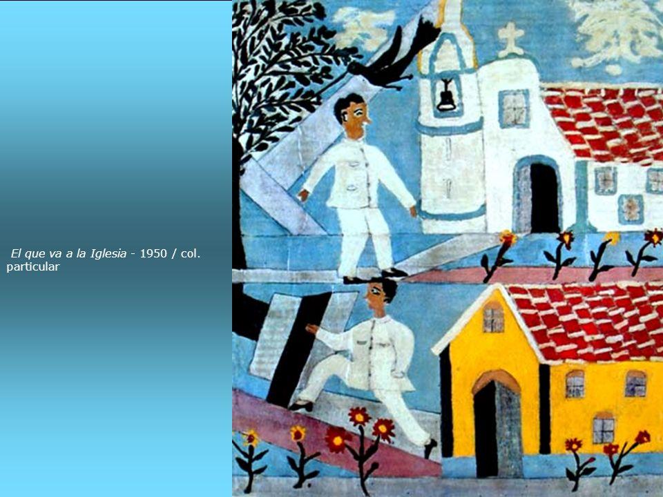El que va a la Iglesia - 1950 / col. particular