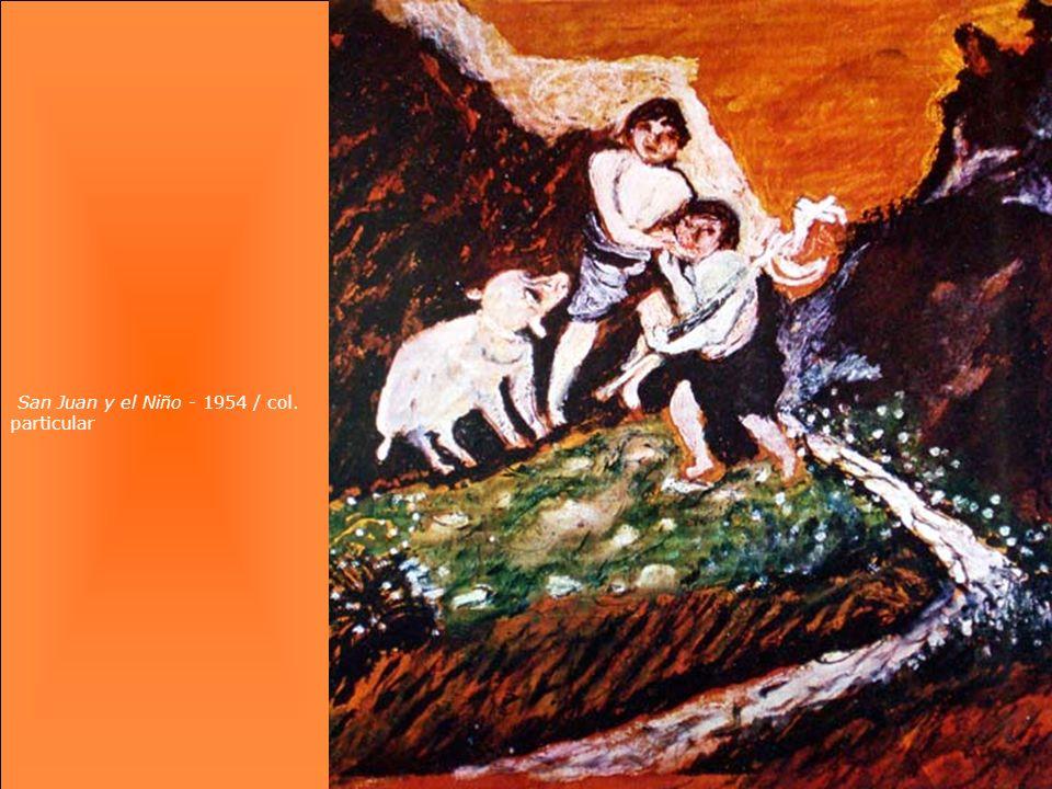 San Juan y el Niño - 1954 / col. particular