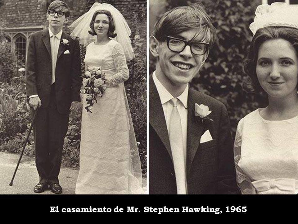 El casamiento de Mr. Stephen Hawking, 1965