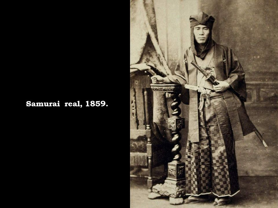 Samurai real, 1859.