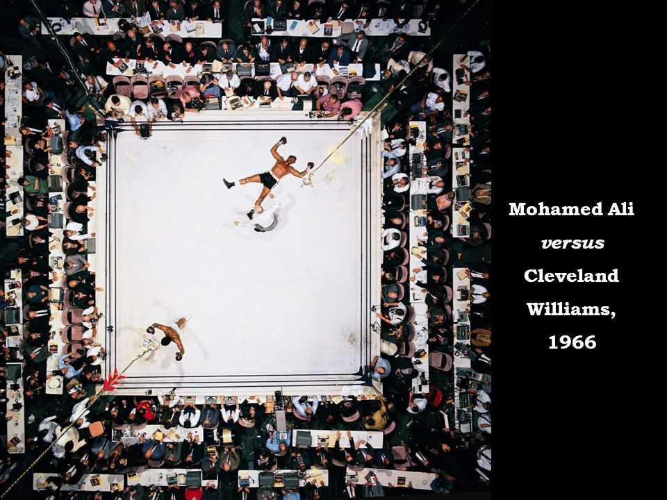 Mohamed Ali versus Cleveland Williams, 1966