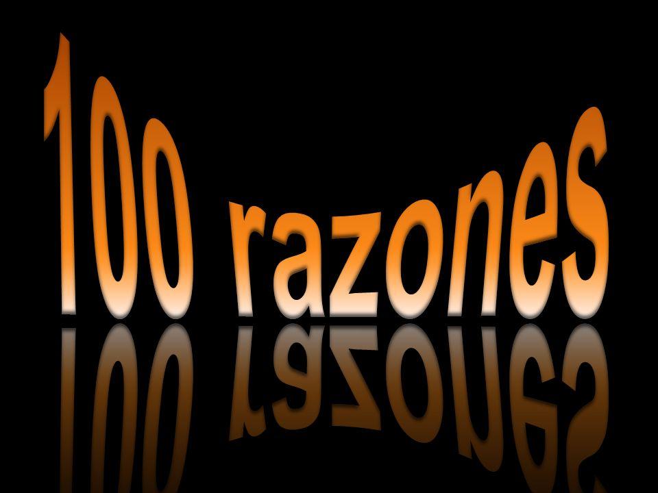100 razones