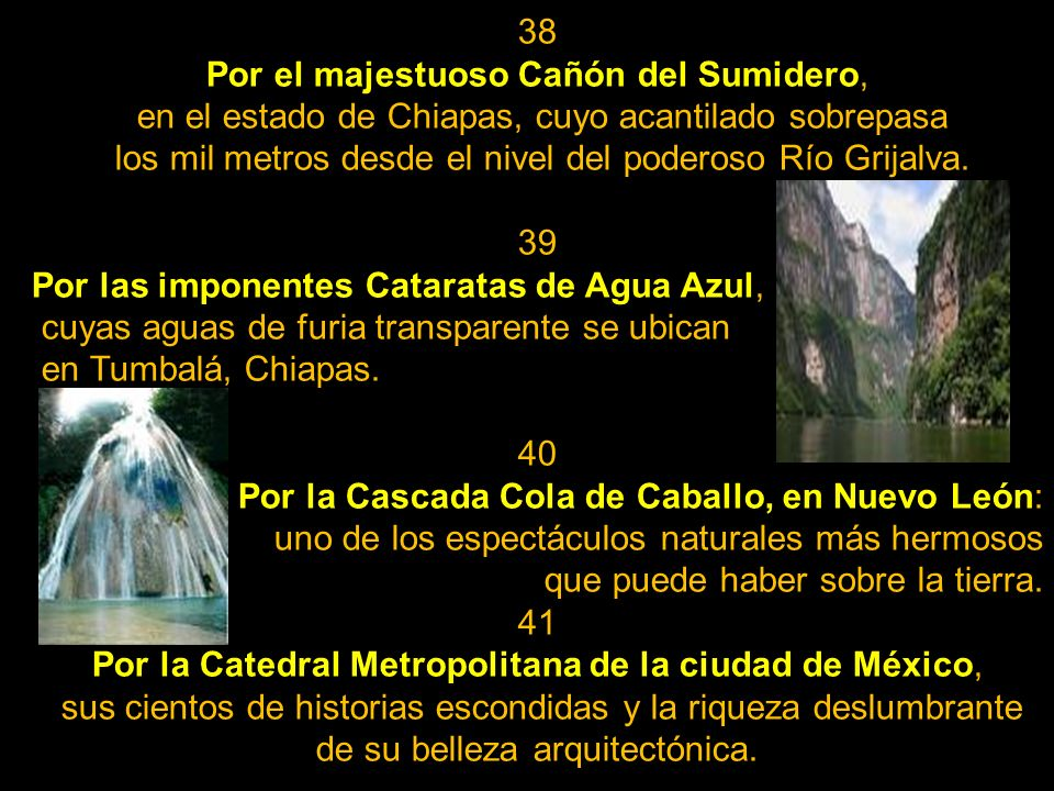Por el majestuoso Cañón del Sumidero,