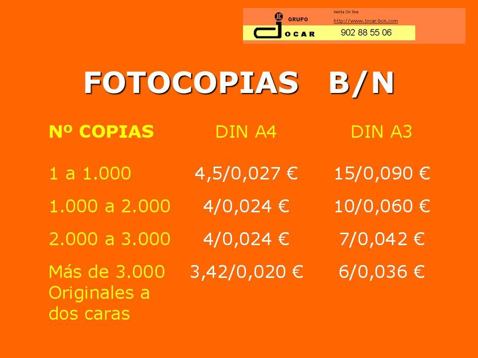 FOTOCOPIAS B/N