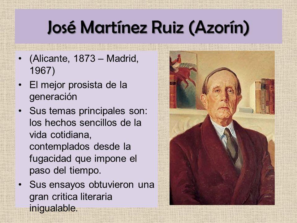 José Martínez Ruiz (Azorín)