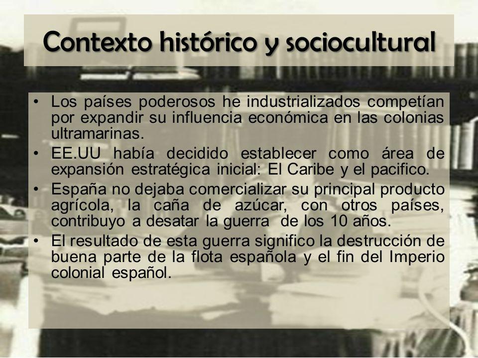 Contexto histórico y sociocultural