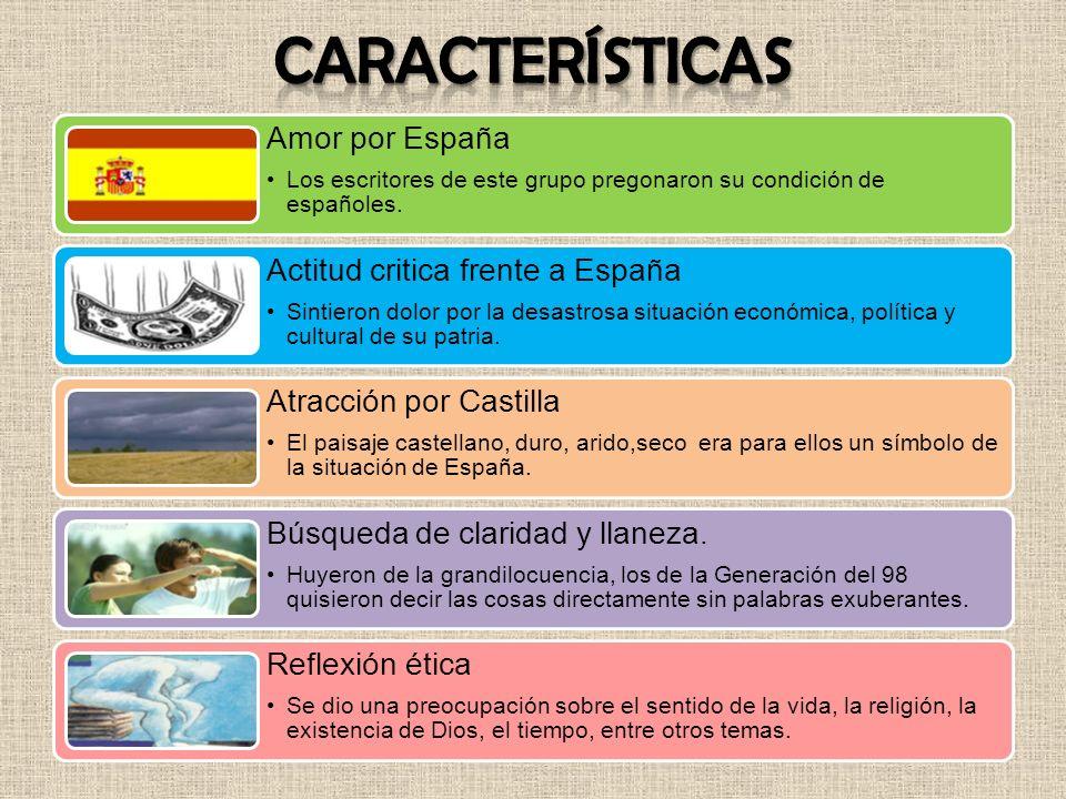 Características Amor por España