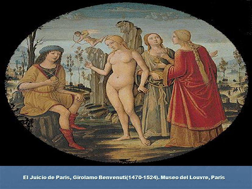El Juicio de Paris, Girolamo Benvenuti(1470-1524)