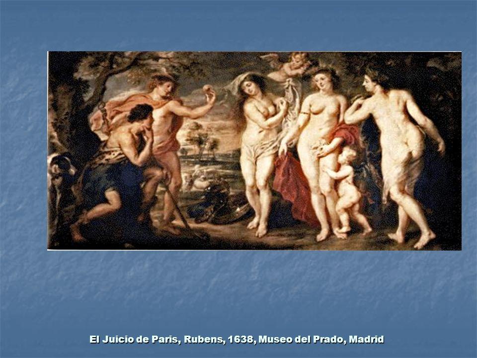 El Juicio de Paris, Rubens, 1638, Museo del Prado, Madrid