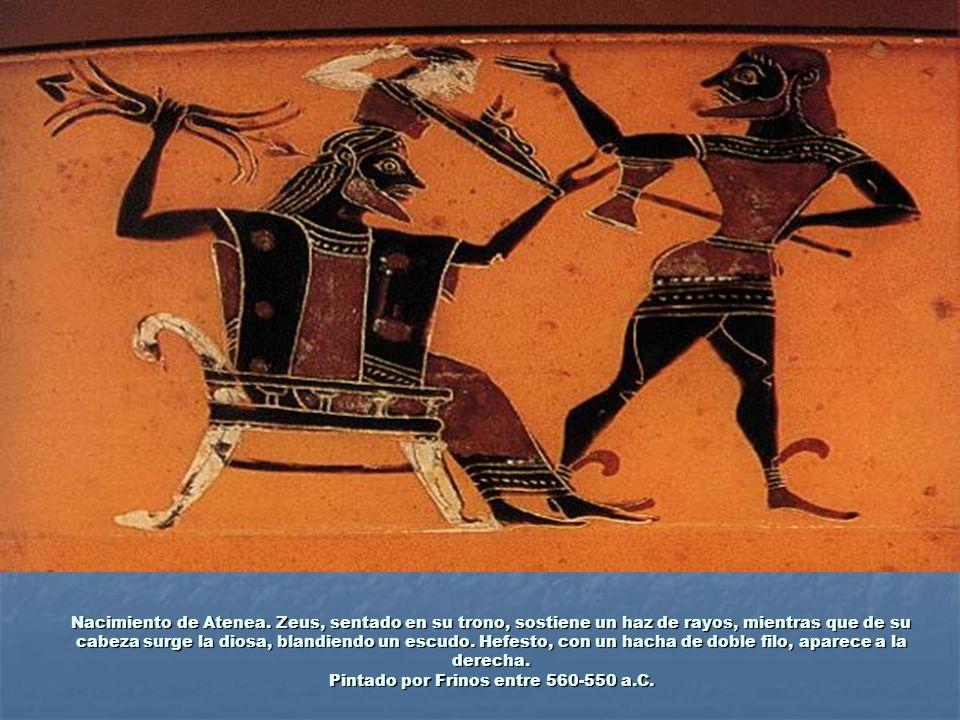 Nacimiento de Atenea.