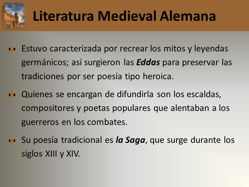 Literatura Medieval Alemana