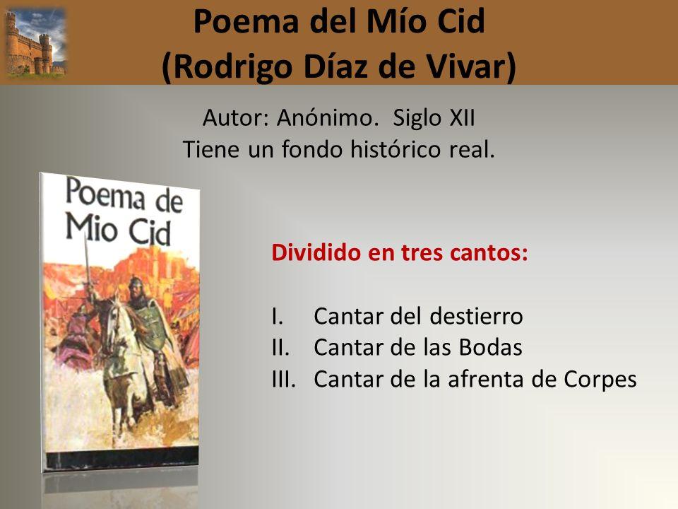 Poema del Mío Cid (Rodrigo Díaz de Vivar)